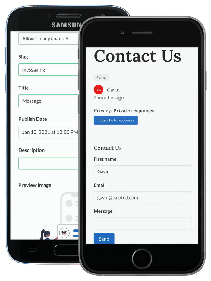 Contact From Screenshot